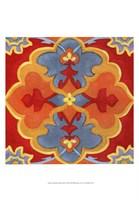 Alhambra Pattern III Framed Print