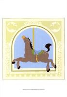 Horse Carousel Framed Print