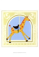 Giraffe Carousel Fine Art Print