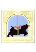 Bear Carousel Fine Art Print