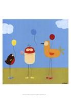 Sunny Day Birds II Fine Art Print