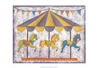 Carnival Carousel Fine Art Print