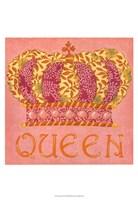 Queen Framed Print