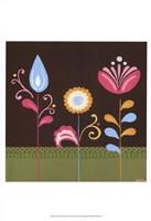 Patchwork Garden IV Fine Art Print