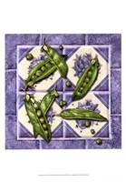 Peas Tile Fine Art Print