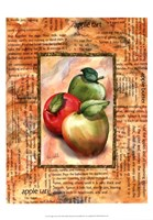 Apple Tart Fine Art Print