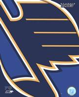 St. Louis Blues 2011 Team Logo Fine Art Print