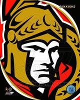 Ottawa Senators 2011 Team Logo Fine Art Print