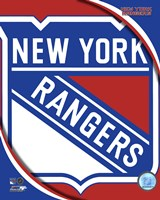 New York Rangers 2011 Team Logo Fine Art Print
