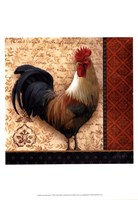 French Rooster II Framed Print