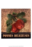 Delicious Apples Framed Print