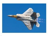 Lockheed Martin F-22A Raptor JSOH Fine Art Print