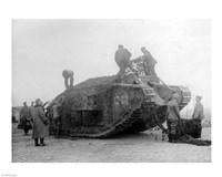 Mark IV Tank Framed Print