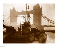National Archief Uboat 155 London Fine Art Print
