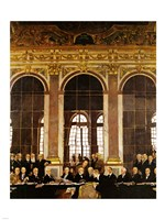 William Orpen - The Signing of Verailles Treaty Fine Art Print