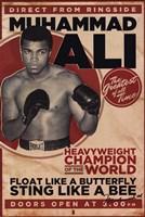 Muhammad Ali - Vintage Wall Poster