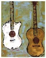 Six Strings III Fine Art Print