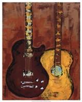 Six Strings II Fine Art Print