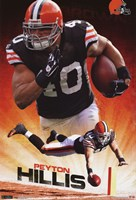 Browns - P Hillis 11 Wall Poster