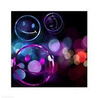 Bounce Smiley Faces Fine Art Print