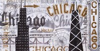Hey Chicago Vintage Fine Art Print