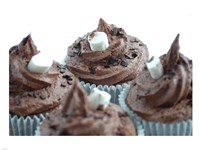 Hot Chocolate Cupcake Fine Art Print