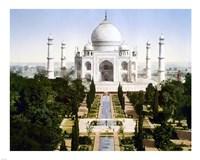 Taj Mahal 1890 Framed Print