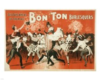 Bon-Ton Burlesquers Fine Art Print