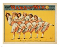 Hans and Nix - Fun, Music and Song Fine Art Print
