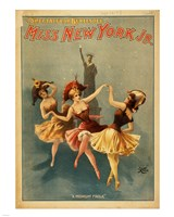 Miss New York Jr. - A Midnight Frolic Fine Art Print