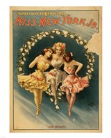 Miss New York Jr. - Love Secrets Fine Art Print