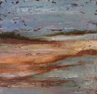 Sunset Lake II Framed Print