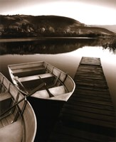 Row Boat Awaits Fine Art Print