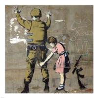 Bethlehem Wall Graffiti Fine Art Print