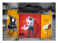Graffiti in Valencia Fine Art Print