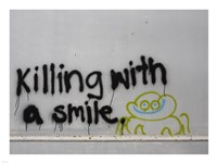 Killing With a Smile - Singapore Fine Art Print