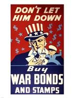 Buy War Bonds and Stamps Fine Art Print