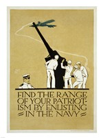 Find the Range of Your Patriotism Fine Art Print