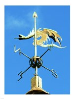 Weathervane on the Church of St Michael Fine Art Print