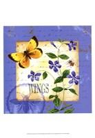 Butterfly Meadow III Fine Art Print