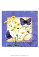 Butterfly Meadow IV Fine Art Print