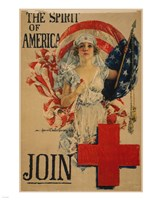 Howard Chandler Christy WWI Poster Framed Print
