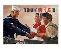 1944 Jon Whitcomb US Navy Fine Art Print