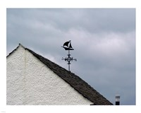 Weathervane at Bellanoch Fine Art Print
