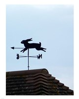 Rabbit Weathervane Fine Art Print