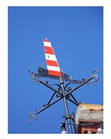 Lighthouse Weathervane Fine Art Print