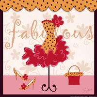 Fabulous - square Framed Print