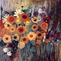 Floral Frenzy I Fine Art Print