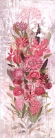 Floral Frenzy Soft Pink I Fine Art Print