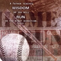 Home Run Fine Art Print